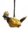 Nääsgränsgarden hängender Hahn Roffe gelb, H 3 cm