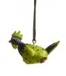 Nääsgränsgarden hängender Hahn Roffe grün, H 3 cm