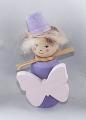 Schmetterlingsmädchen lila pastell