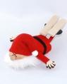Nordika Filzwichtel auf Bauch liegend m. Ski, 12 cm
