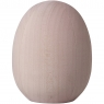 Aarikka big Easter egg, pink, H 10 cm ⌀ 6 cm