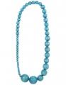 Aarikka Saaga finnische Halskette wasser(türkis), l 75 cm
