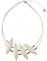 Aarikka Niitty Timotei necklace clay,  l 50 cm