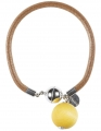 Aarikka Seita Armband gelb, Durchmesser 6 cm