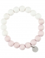 Aarikka Sara Armband rosa/weiß Durchmesser 5,5 cm