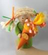 Schulanfang - Mädchen mit Schultüte, h 10 cm