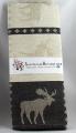 Swedish woven Kitchen towel Elk black, 50x70 cm