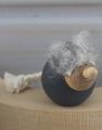 Schwedischer, kleiner Troll dunkelgrau, H 3 cm