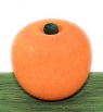 1 wood plug apple middle, orange (copy)