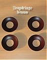 4 big rogue rings, brown