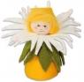Blumenkind Gänseblümchen weiß/gelb, H 7 cm