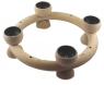Swedish tealights ring 23 cm, natural