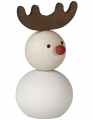Aarikka PUNAKUONO WINTER Reindeer white, h 10 cm