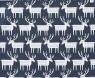Bengt & Lotta towel  Reindeer smokey blue, woven cotton, 46 x70 cm