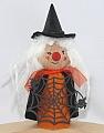 Halloween - big wooden Witch black/orange