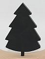 Swedish fir tree dark green for candlerings, h 9 cm