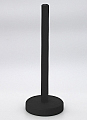 Swedish kitchen paper role holder black, h 28 cm (without figure)