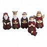 Det Gamle 6 Danish Figures, Nativity, H 10 cm