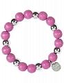Aarikka Minttu bracelet pink, diameter 5 cm