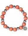 Aarikka Minttu bracelet orange, diameter 5 cm