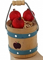 apple bucket, h 6 cm