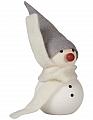 Aarikka LUMIUKKO snowman white, h 11 cm
