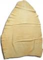 whole leather fur, ca. 90x70 cm