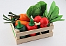 ERZI small crate with vegetables, toy shop item
