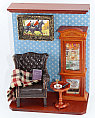 Picture wall display Cognac/smooking/reading Room, 7 3/4 inch