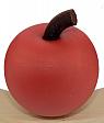 Sebastian design wooden apple, rust, H 5 cm, for candlerings