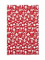 Bengt & Lotta towel Merry X-mas red