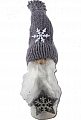 Winter girl with star, knitted cap pink, h 13 cm (copy)