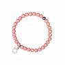 Aarikka Herkkä bracelet light pink, diameter 7 cm