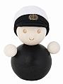 Aarikka Graduate boy/captain, h 8 cm