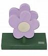 Sebastain design Napkin holder flowers light lila, 12x 6,5 x11 cm