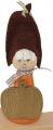Autumn boy with deer/felt cap, light brown, h 11 cm (copy) (copy) (copy)