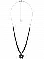 Aarikka Lemikki pendant black Length adjustable 72-83 cm
