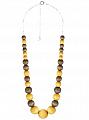 Aarikka Kaisa pendant yellow/green, Length adjustable 60-69 cm
