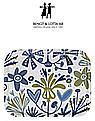 Bengt & Lotta Alma blau Tablett 20x27 cm