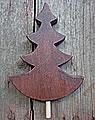 Talvel big fir h 11,5 cm d. brown