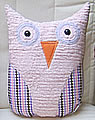 pillow middle Owl lila/pink lila/white