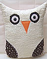pillow Set Owl XL brown
