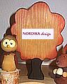 Nordika autumn tree, 16 cm