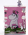 Mini-world Mumin girl with magnet, rose