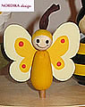 Nordika butterfy yellow