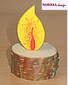 Nordika Holzflamme - Kinderflamme