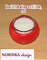 1 tea warmer candle holder simply, red
