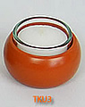 1 tea warmer candle holder simply, terracotta